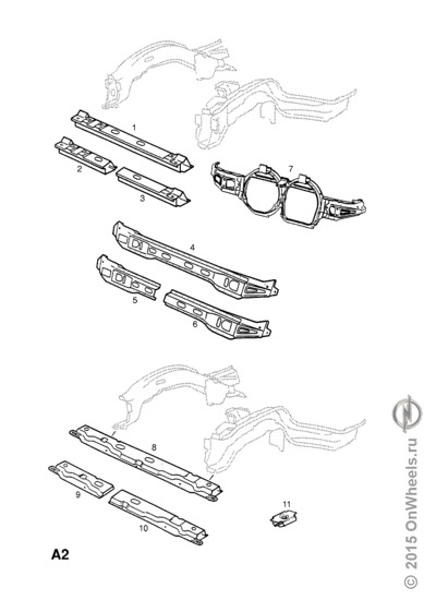 Opel каталог запчастей opel online